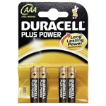 Duracell AAA 4 stk